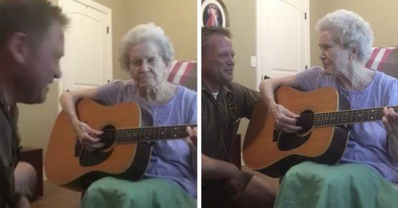 Moren hans har Alzheimers. Men når hun får gitaren i hendene skjer det noe utrolig!