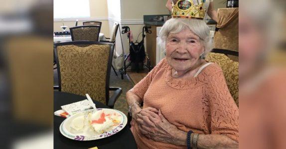 105 år gamle Helen avslører hemmeligheten bak et langt liv. Det er IKKE mosjon og et sunt kosthold!