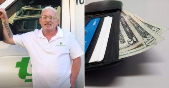 Bussjåføren fant en gjenglemt lommebok på gata. Men når han åpnet den fikk han SJOKK!