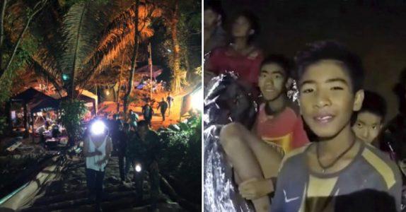Redningsdykkerne har gjort en fantastisk jobb. Nå er ALLE guttene reddet ut av grotten i Thailand!