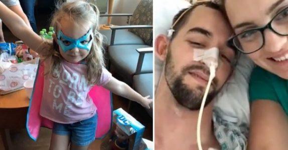 Pappaen falt plutselig om på gulvet. Da reagerte 3-åringen lynraskt – og reddet livet hans!