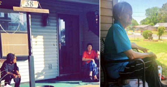 Kvinnen spør hvorfor gutten besøker bestemoren 5 ganger daglig. Svaret hun får glemmer hun ALDRI!
