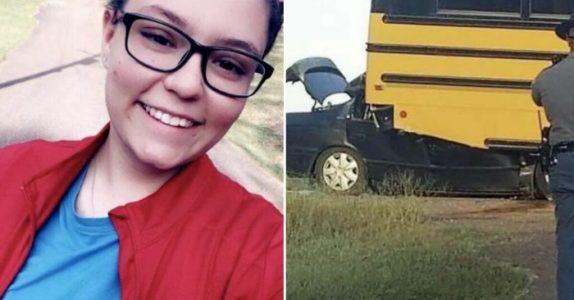 17-åringen krasjer med skolebussen og dør. Det politiet finner i hånden hennes knuser hjertet mitt!