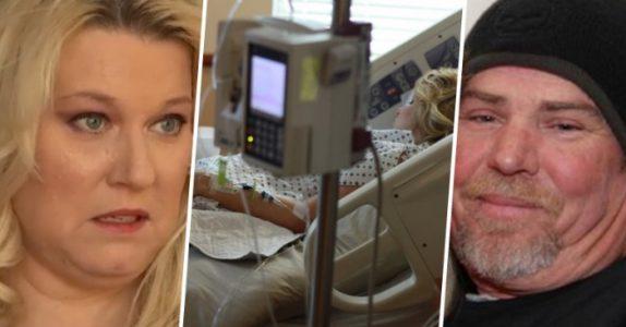 Kvinnen ligger i koma. Men i det kontakten trekkes ut, hører mannen at hun hvisker – og kjemper tilbake!