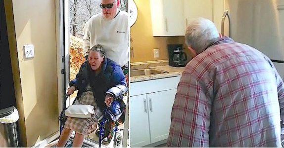 Det gamle paret tvinges til å flytte inn på et aldershjem. Så kommer sønnen med en stor overraskelse!